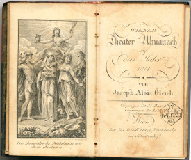 Wiener Theater-Almanach auf das Jahr 1811, Sammlung Don Juan Archiv Wien